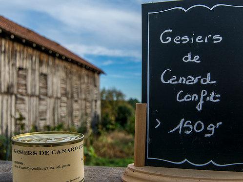Gésiers de Canard Confit 150 gr