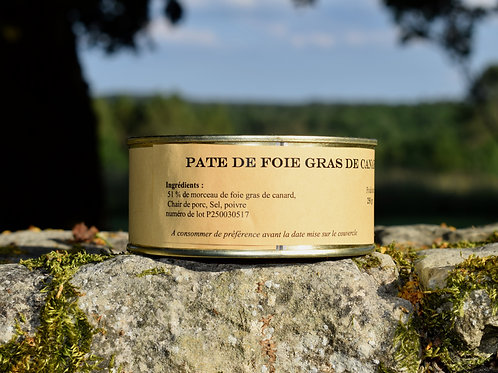 Pâté de Foie Gras de Canard 250 gr