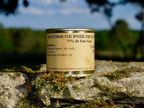 Mousse de Foie de Canard 100 gr