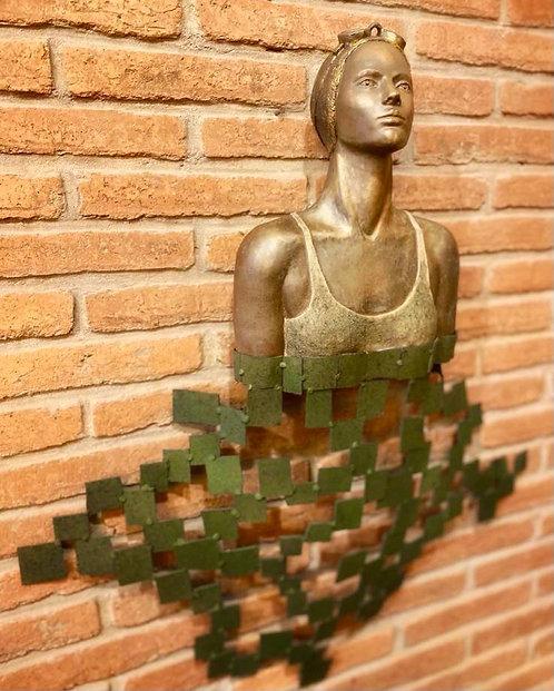 Nadadora de pared