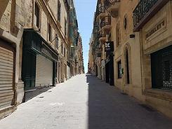 Valletta empty street