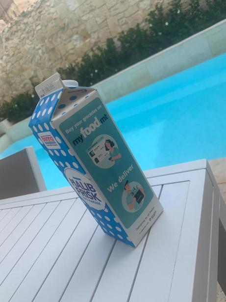 Benna Milk Carton