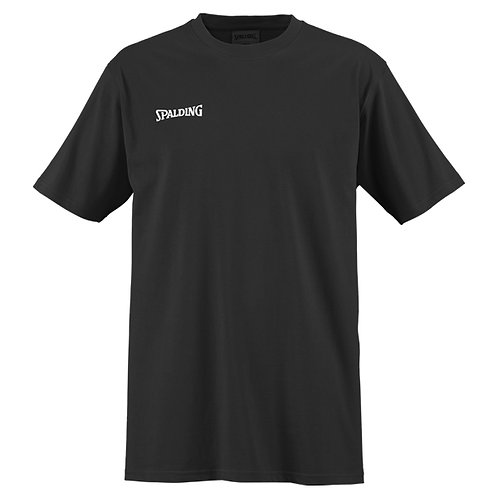 Spalding - T-Shirt noir petit logo