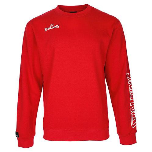 Spalding - Adult TEAM II Crewneck rouge