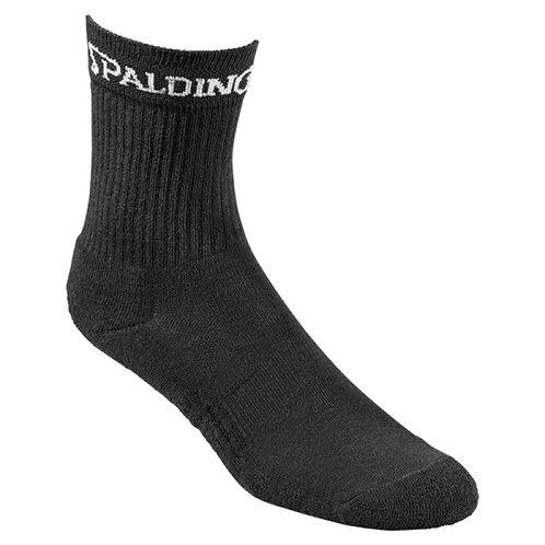 Spalding - chaussettes mi-hautes noires