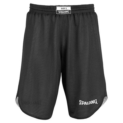 Spalding - Short Réversible noir-blanc