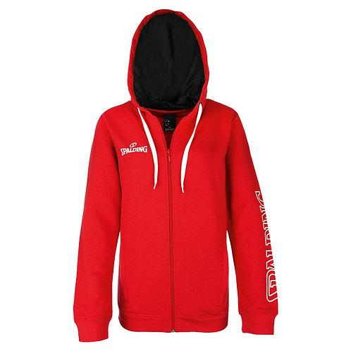 Spalding - 4Her TEAM II Zipper Hoody rouge