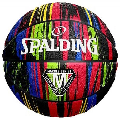 Spalding - Marble Black T7