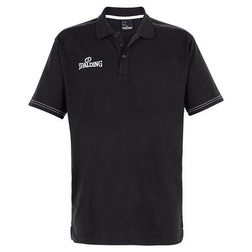 Spalding - Polo Slim Cut noir
