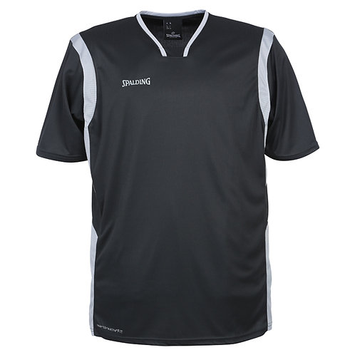Spalding - All Star Shooting Shirt noir-blanc