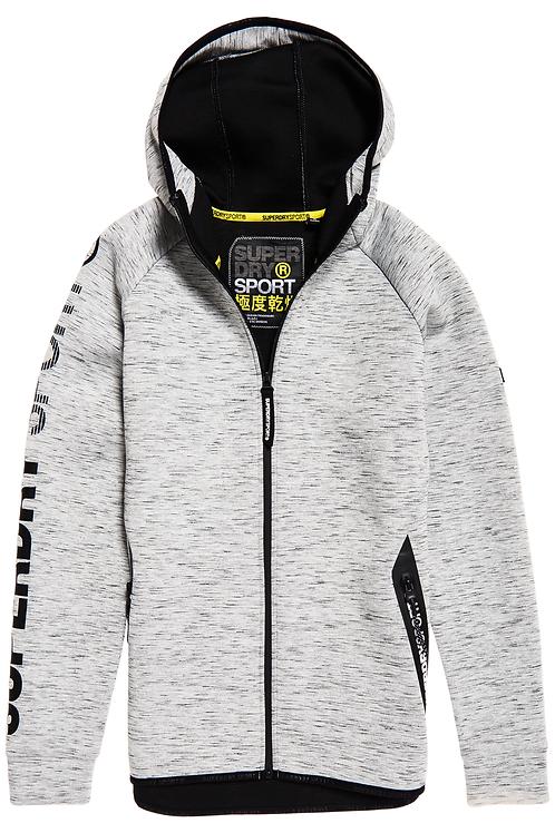 Superdry - Sweat à capuche zippé Core Gym Tech