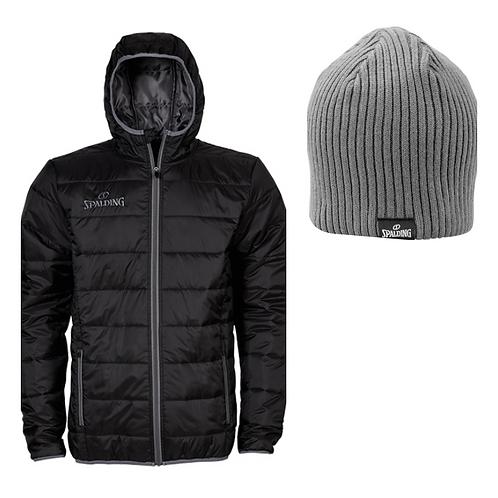 Spalding - Winter pack - veste doudoune matelassée avec bonnet