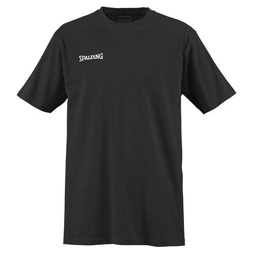 Spalding ing - KID T-Shirt noir petit logo