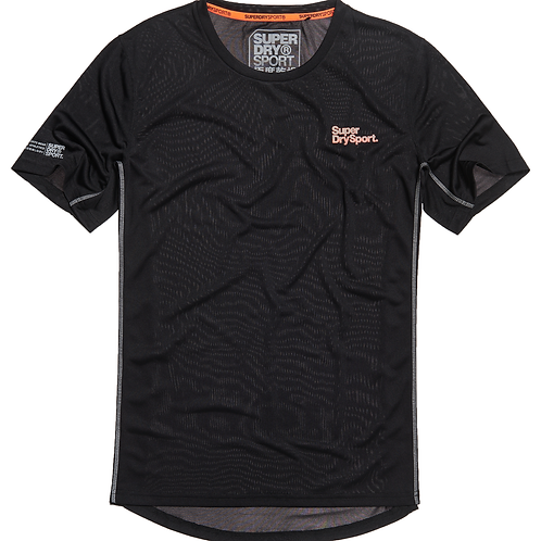 Superdry - Training t-shirt noir
