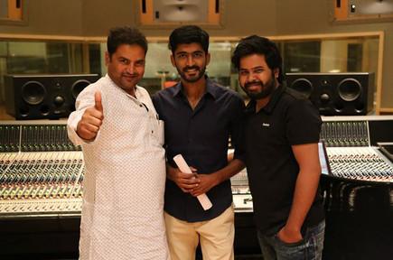 With Producer Director Anjani Kumar & Mohammed Irfan