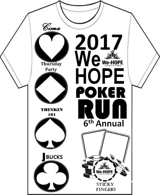 WeHOPE's 6th Annual Poker Run