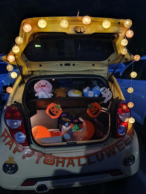 WeHOPE's 2nd Annual Trunk or Treat A Big Hit In Ulsan