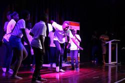 Ugandan Youth performing