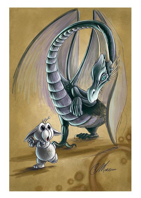 M. Lafonte et le Dragon