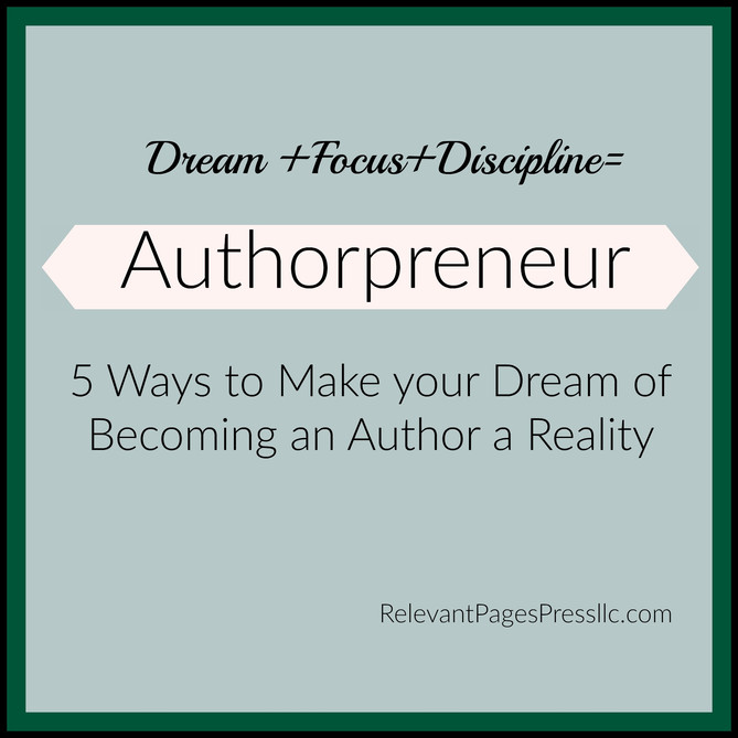 5 Ways to Make your Dream of Becoming an Author a Reality