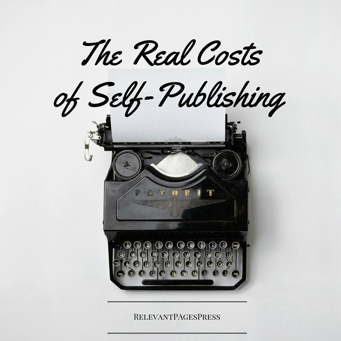 The Real Costs of Self-Publishing