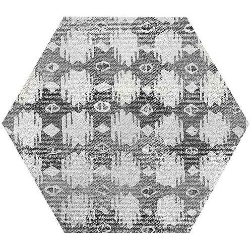 Kinetic Hexagon Deco Grey