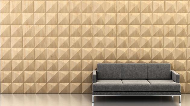 Shape: Peak | Pattern: Directional Repart | Finish: Maple