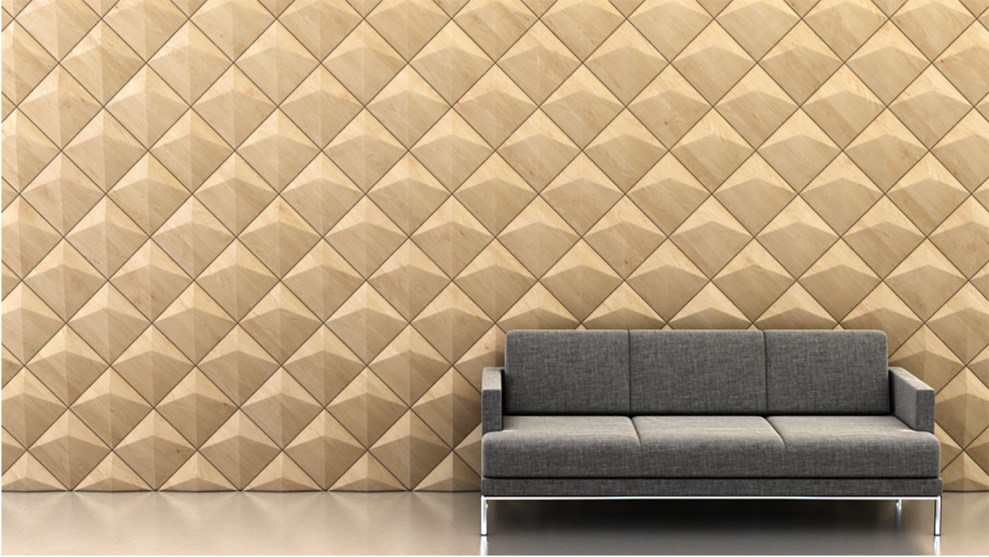 Shape: Peak   Pattern: Diagonal   Finish: Maple