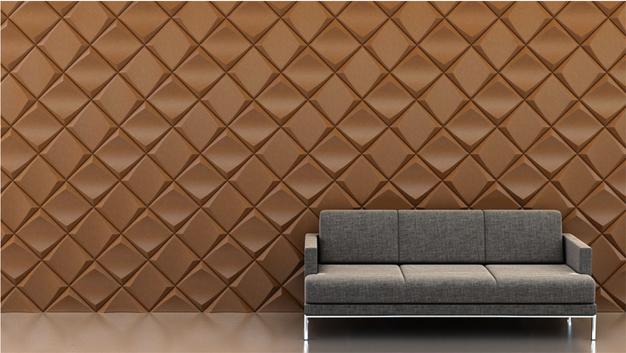 Shape: Dive | Pattern: Alternating Diagonal | Finish: Copper