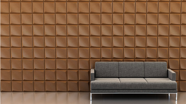 Shape: Dive | Pattern: Directional Repeat | Finish: Copper