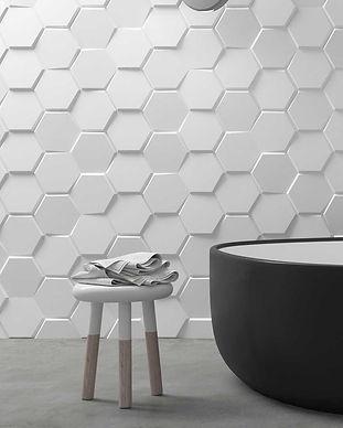 Ceramic Hexagon Tile