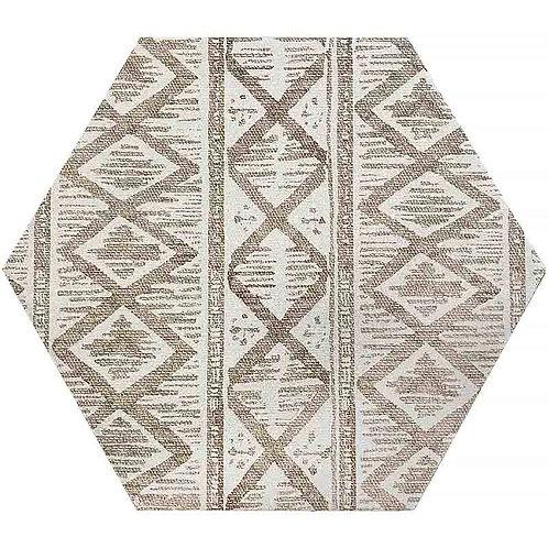 Kinetic Hexagon Deco Ivory