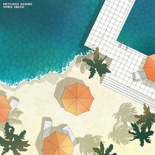 "Pictured Resort, Work Drugs 『S.T.』(12"")"