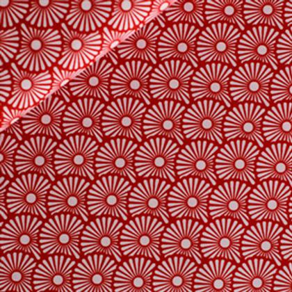 Blow balls gebrand rood