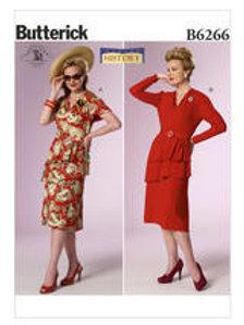 B6266 jaren '40 jurk
