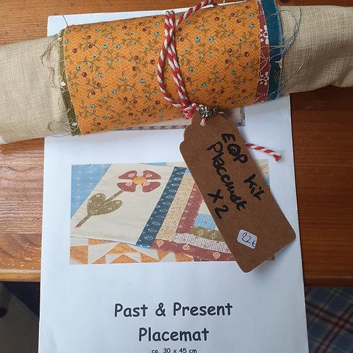 EQP Past & Present kit 2 placemats
