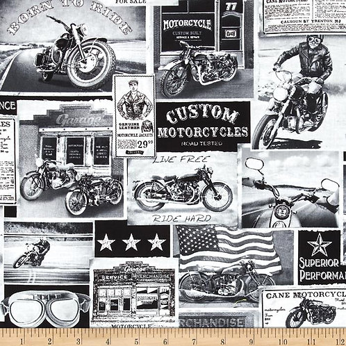 Motors - vintage newspaper