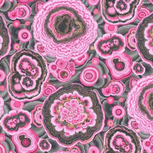 Agaat roze/grijs