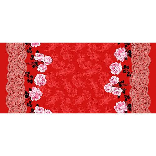 Boudoir Femme fatale rood