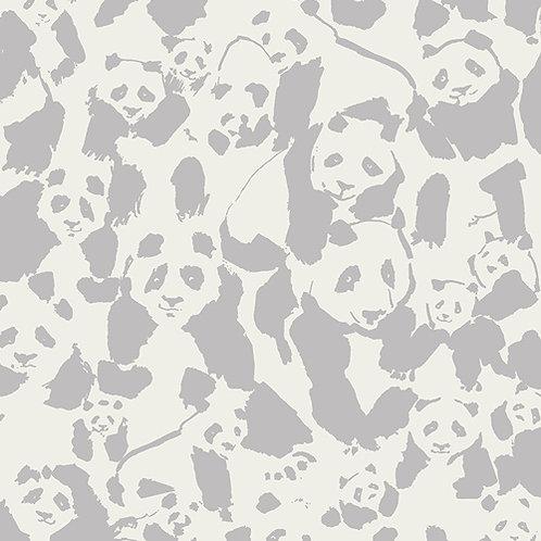 Panda zachtgrijs/ecru