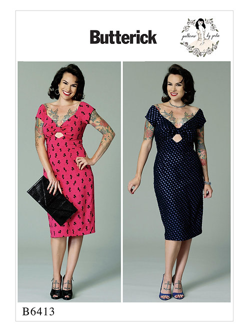 Gertie's wiggle dress B6413