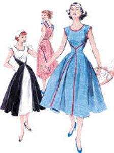B4790 The walkaway dress 1952