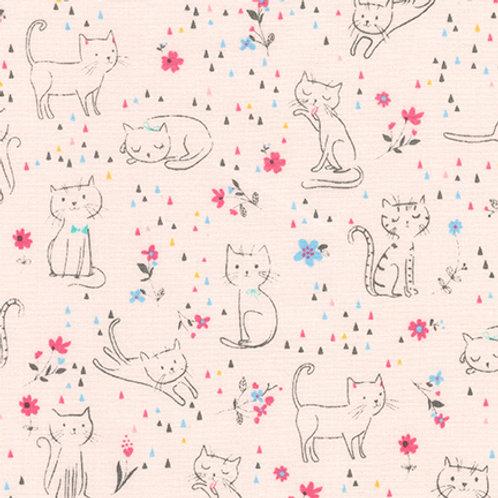 katten tussen de bloemetjes