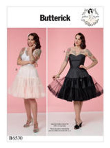 B6530 Gertie petticoat & onderjurk