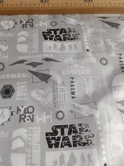 Last Jedi Star Wars silhouettes