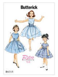 B6315 meisjesjurkje 1961