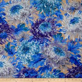 shaggy natural blauw
