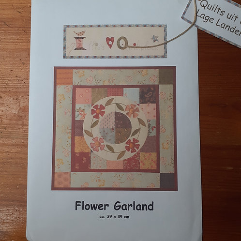 EQP Flower Garland patroon