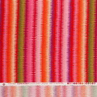 Diamond stripe orange