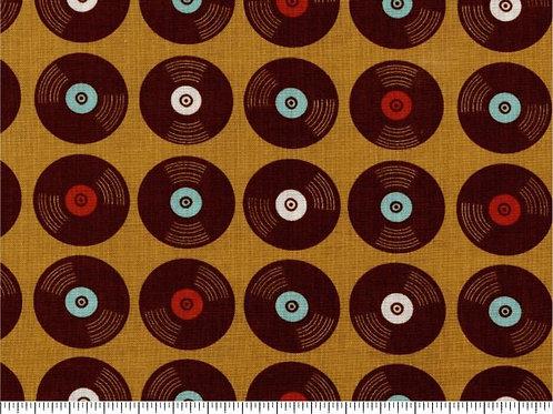 LP Vinyl in bruin